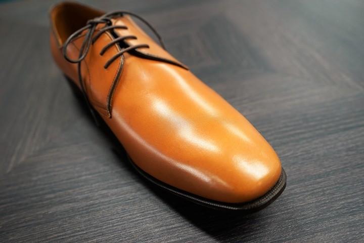 革靴の艶感