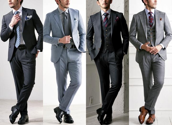 グレースーツを着こなす!~ネクタイ・シャツ・靴のコーディネートポイントとは~