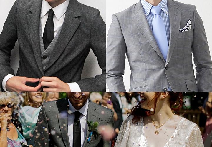 グレースーツ結婚式