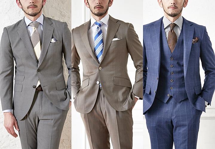イタリアのスーツ生地 カノニコのウール&シルク フランネル