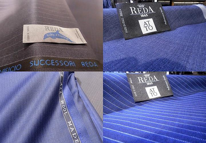 イタリアのスーツ生地 レダ