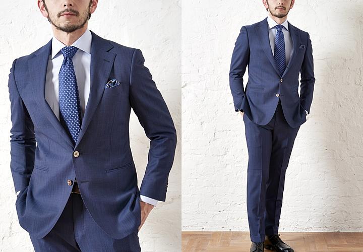 3d8f2d3faf スーツに仕立てた時にドレープが美しくでるのもイタリアの生地ならではの特徴です。そういった柔らかさや体に沿うようなラインがイタリア人のセクシーなスーツスタイル  ...