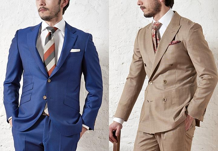 イタリアのスーツ生地 ドラゴのVANTAGE-バンテージ