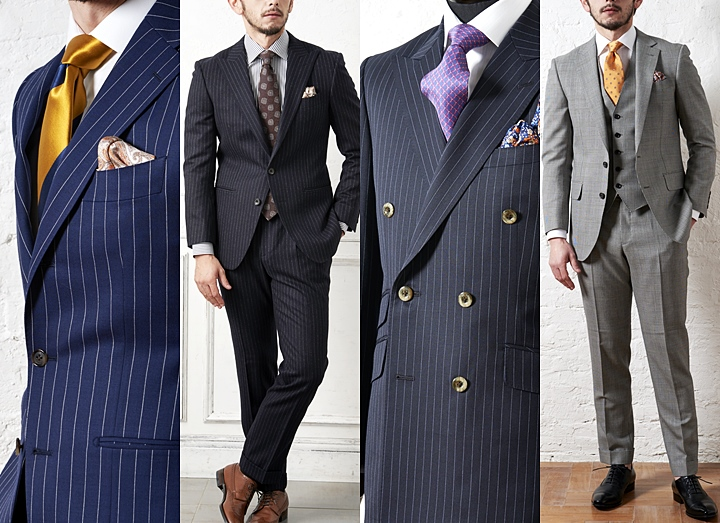 英国紳士 イギリススーツ生地ブランドのメンズスーツ