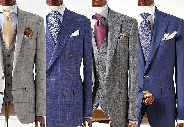 ロロ・ピアーナのスーツスタイル