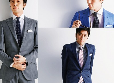 20代におすすめのグレー・ネイビースーツ