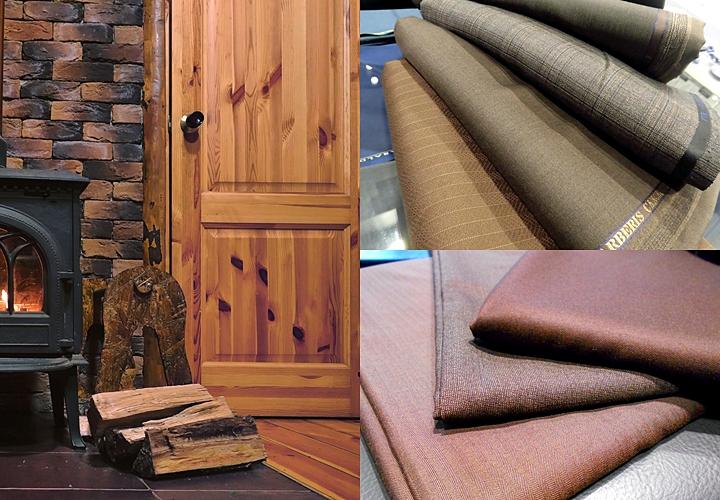 ブラウンスーツ,スーツの印象と色味