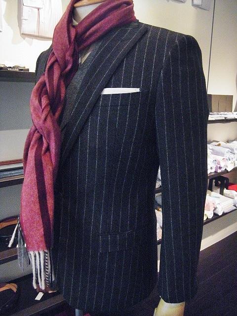サヴィル・クリフォードのフランネルスーツ