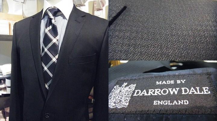 ダロウデイルのブラックスーツ