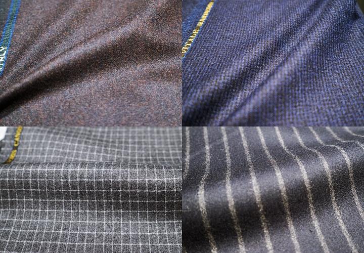 柔らかくて暖かな毛織物