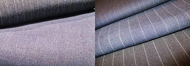 生地の種類 平織のスーツ生地 フレスコ