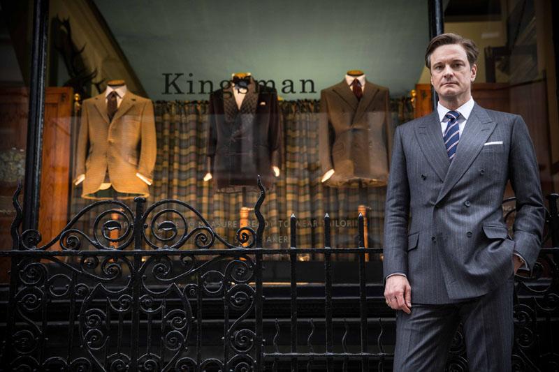 イギリスファッション メンズ ダブルスーツ
