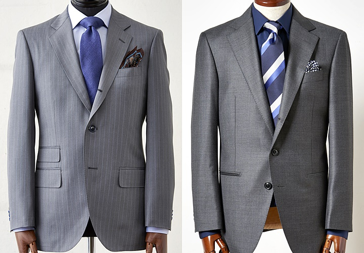 イギリスとイタリアのスーツ