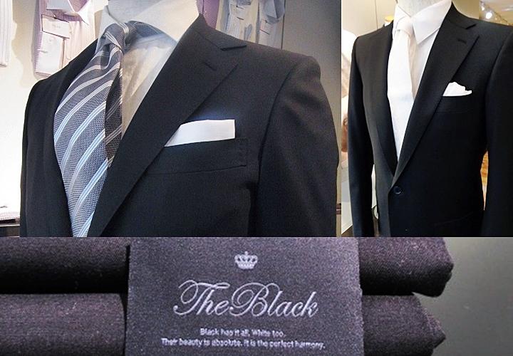リクルートスーツや冠婚葬祭のイメージのあるブラック