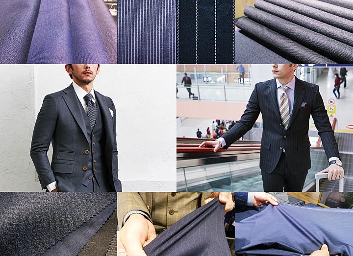 ビジネススーツの選び方と生地