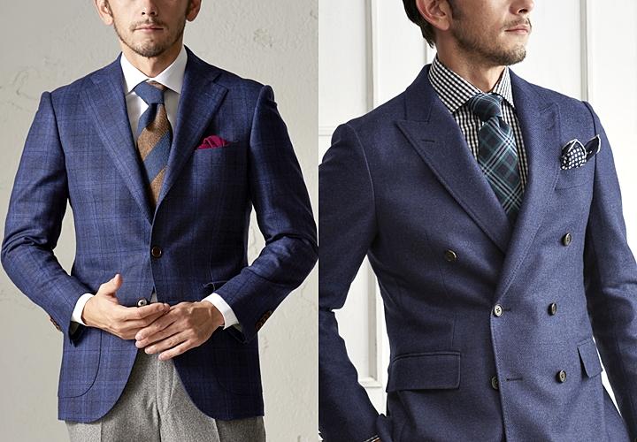 ダブルスーツ,シングルジャケットとの比較