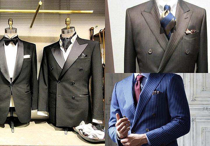ダブルスーツ,結婚式・パーティーシーンでの着こなし方