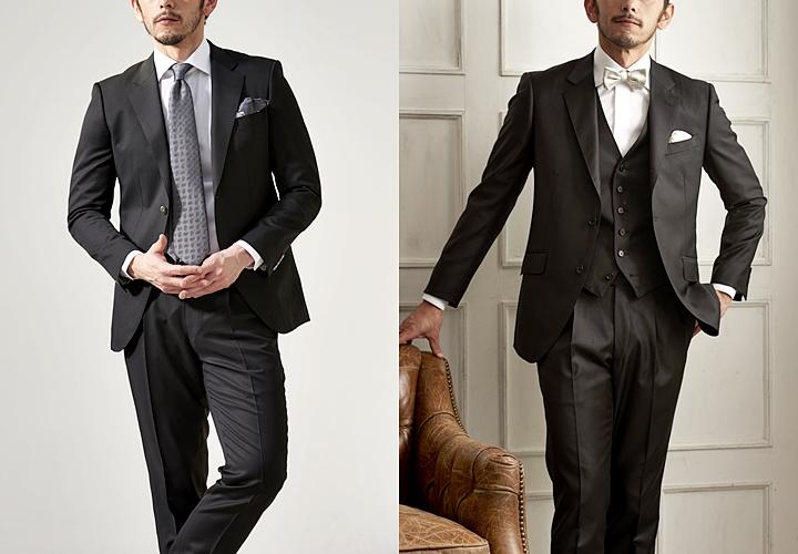 ビジネススーツ,ブラックカラースーツ,パーティー用のブラック