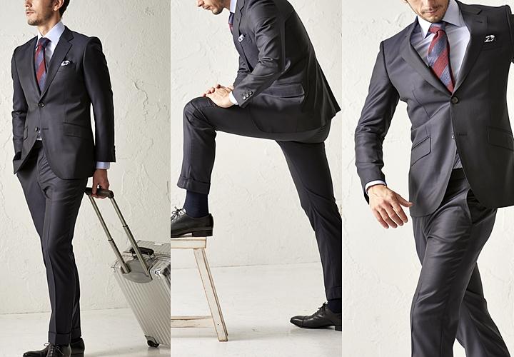 ビジネススーツ,ストレッチスーツ