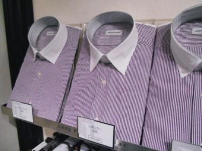 【シャツ襟の種類】レギュラーカラーデザインのシャツ