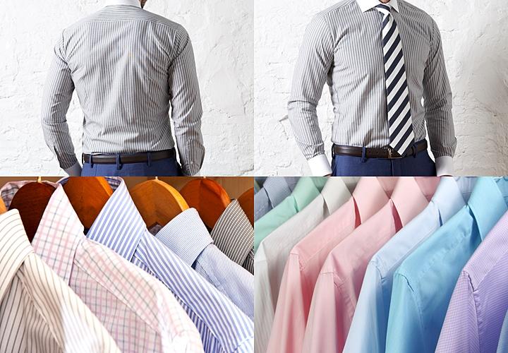 シャツの種類の選び方