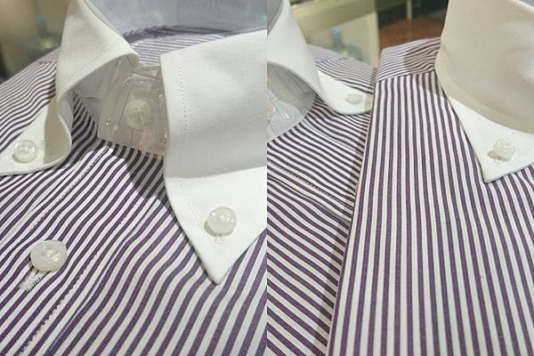 【シャツ襟の種類】ボタンダウンシャツ