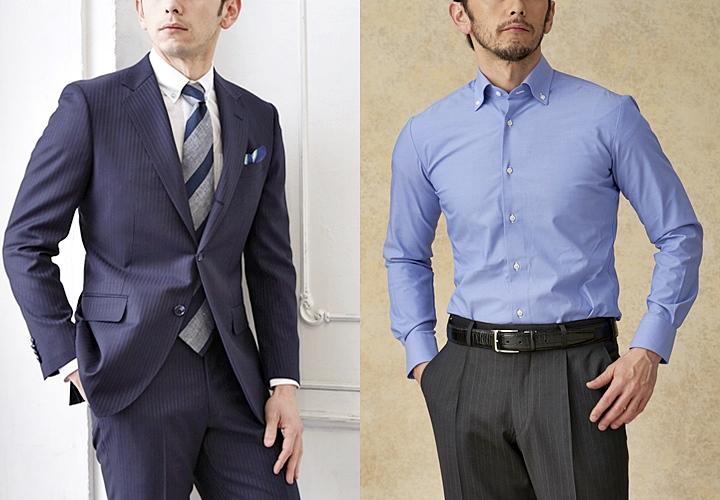 ビジネスシャツ,クールビズにおすすめボタンダウンシャツ