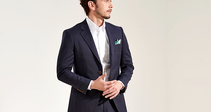 ビジネスシャツ,クールビズにおすすめノーネクタイスタイル