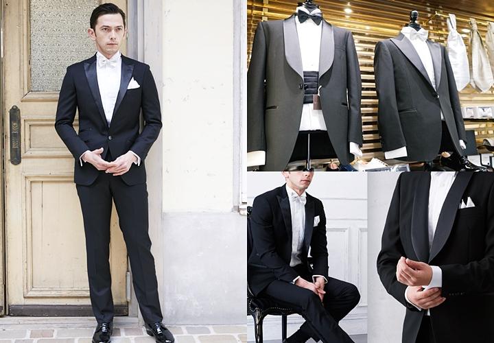 結婚式やパーティーで着る場合のオススメは、ウィングカラーシャツ。