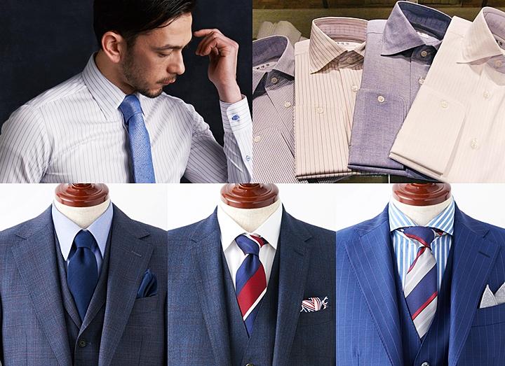 ビジネスシャツの選び方~襟型(デザイン)の種類を知ろう~