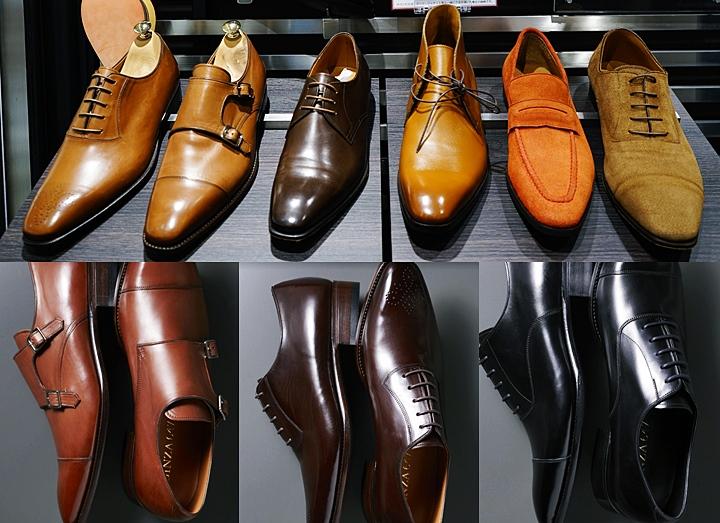 ビジネスシューズ(革靴)の種類