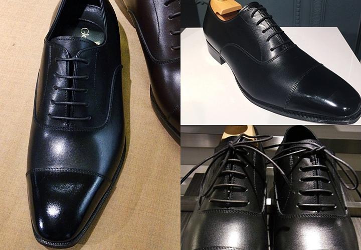 リクルートスーツにおすすめのブラックのビジネスシューズ