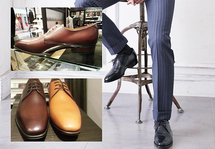 スタンダードなビジネスシューズ(革靴)