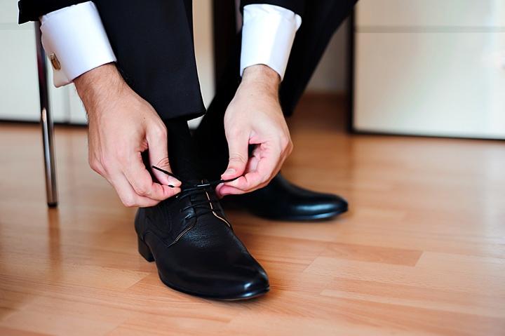 ビジネスシューズのマナー/スーツの足元