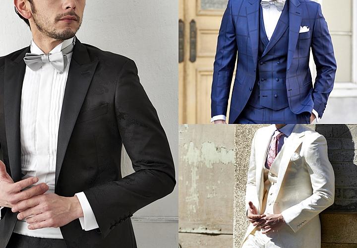ドレスコード ブラック・ネイビー・ホワイトスーツ