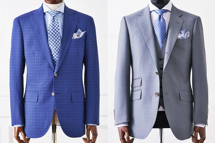 クールビズ,軽量仕立てのスーツ
