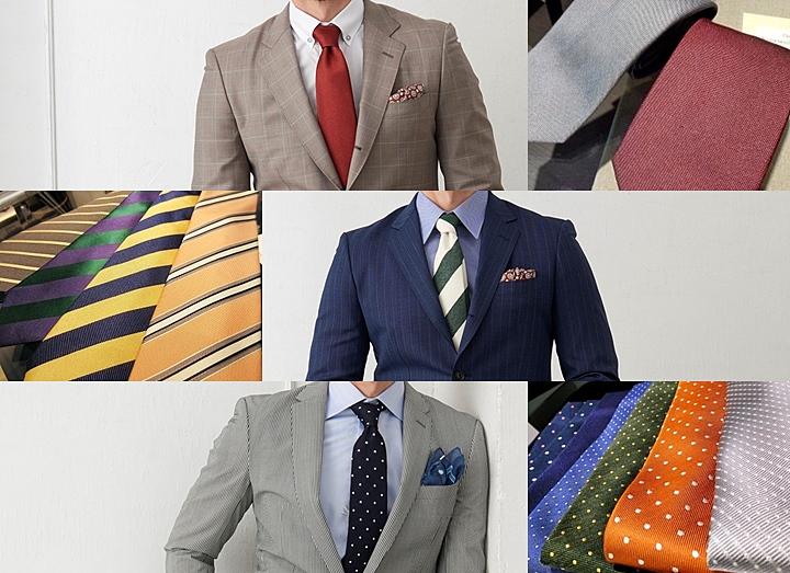 01bceba639ef0 ネクタイの色と柄の選び方とは