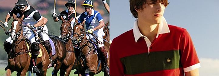 ボタンダウンシャツ・ポロシャツも英国発祥の馬上競技「ポロ」から始まっています