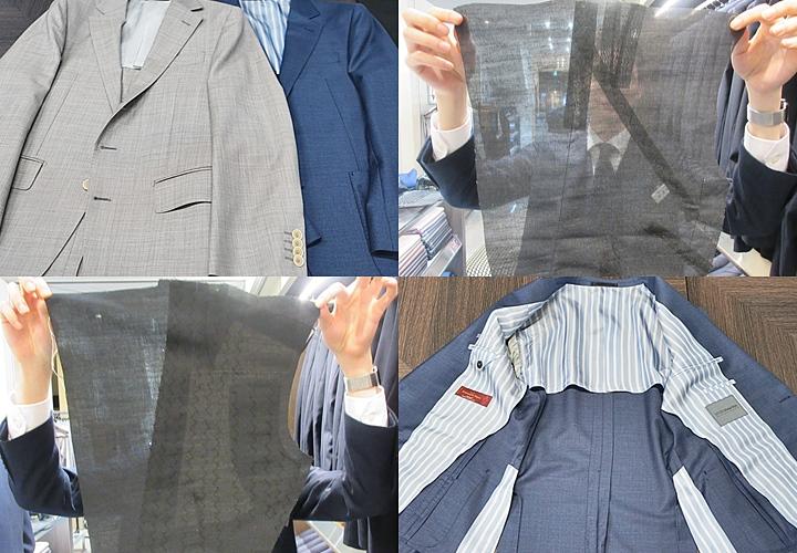 クールビズ,軽量仕立てのスーツ仕様