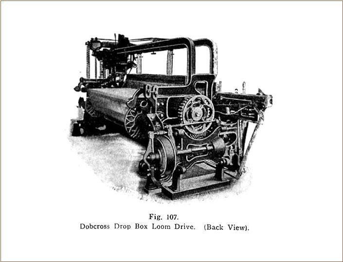 ドブクロス織機