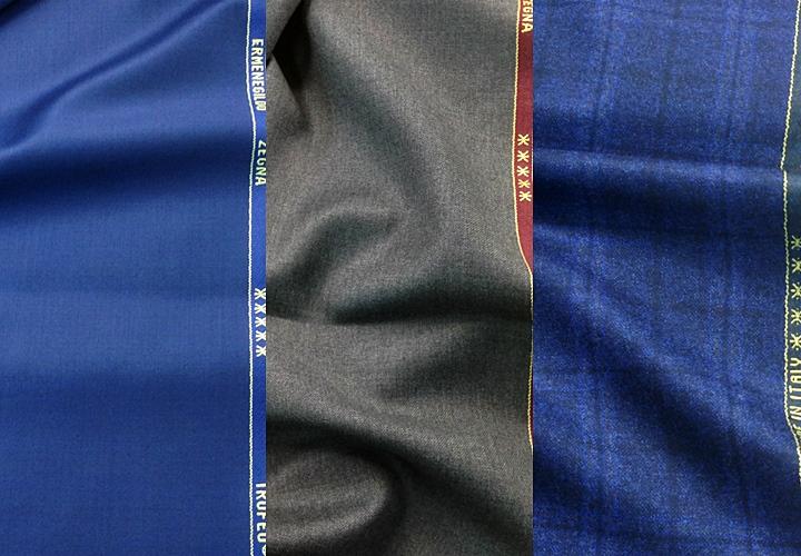 スーツの生地・ブランドを選ぶポイント①:「光沢」