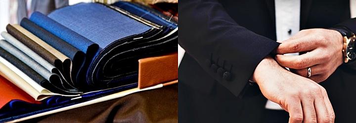 スーツの生地・ブランドを選ぶポイント②③:「柔らかさ」「シワ」