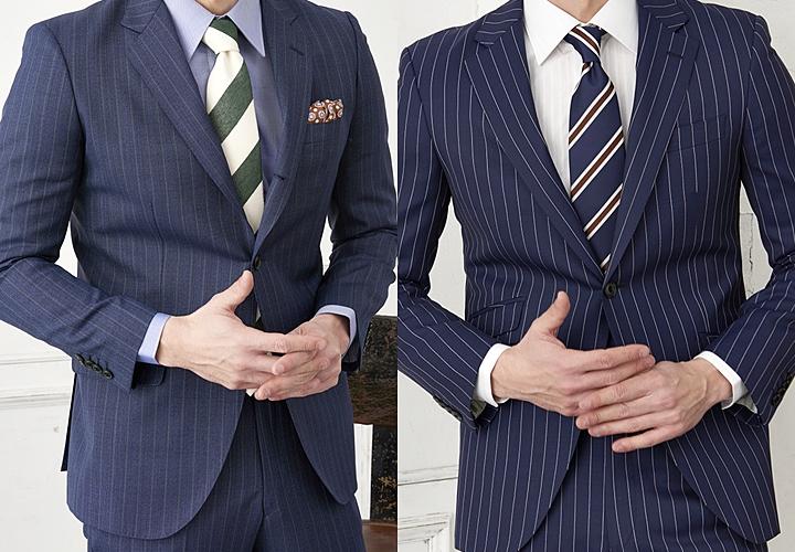 イタリア生地のスーツ イギリス生地のスーツ