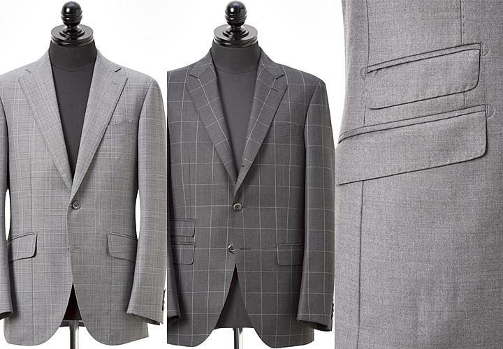 スーツの着方 ボタンの数・留める位置・ポケット