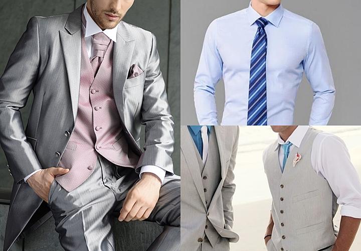 結婚式のグレースーツ:シャツやネクタイのバリエーションが増える