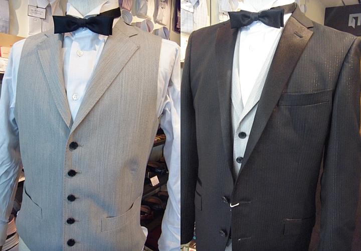 結婚式でのオッドベスト