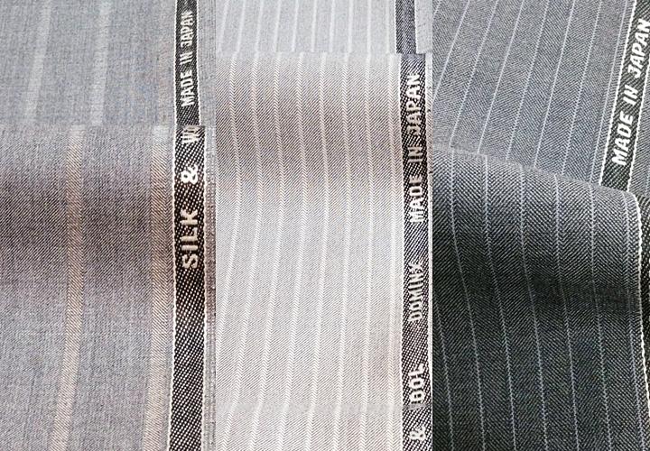 贅沢にシルクを40%もブレンドした、『シルク&ウール』シリーズ