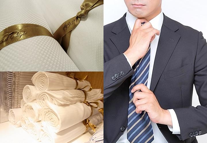 白のワイシャツは、毎朝の時間を有効かつストレスを軽減