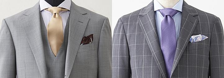 スーツとテーラード、肩パットの違い