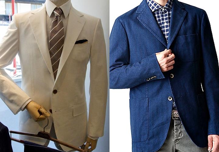 コットン(綿)素材のジャケット